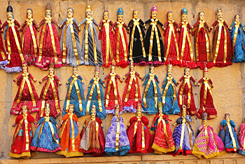 Puppets for sale in Jaisalmer