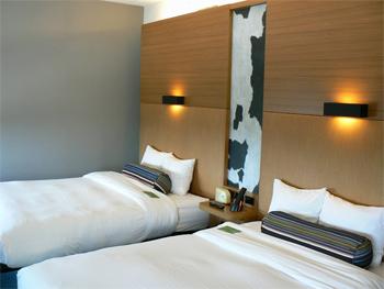 Hotel room at Aloft, Plano Texas.