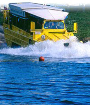 The Ducktours in Boston are a must for tourists.