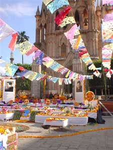The 'Day of the Dead' celebration in San Miguel - photo courtesy of SanMiguelConcierge.com