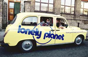 The lonely planet taxi