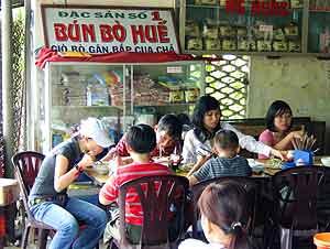 Best restaurants in Hue Vietnam