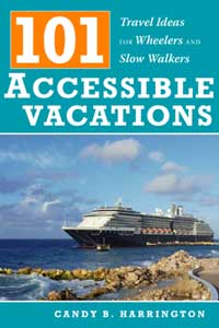 Candy Harrington's newest title is the first guidebook dedicated exclusively to wheelchair-accessible destinations, lodgings and recreational opportunities.
