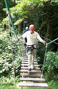 Exploring the jungle in Costa Rica