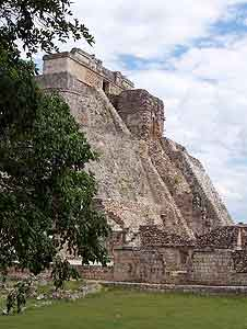 The Great Pyramid at Uxmal, in Yucatan state