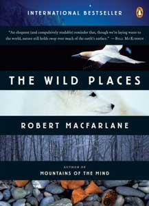 The cover of The Wild Places by Robert MacFarlane