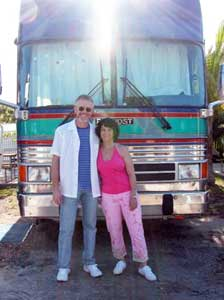 Tim and Doreen in Key West, Flroida
