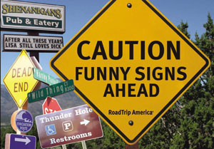 Cover art for Caution Funny Signs Ahead