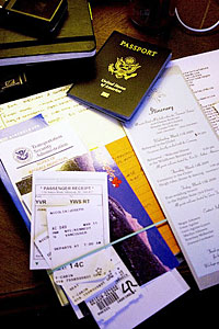 iPhones and iPods are becoming essential for travelers--for example, TripIt automatically organizes all of your important travel documents (Photo - flickr user Irrezolut)