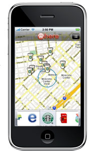 """Where"" is an app with a host of ""location-aware"" features to keep you informed on your surroundings"