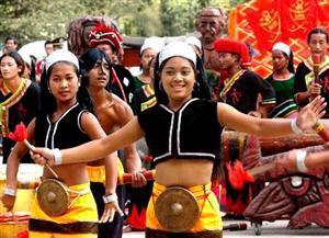 Wa girls celebrate in Northern China. photo: China Travel.com