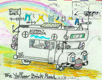 A friend's sketch of the Rich's RV