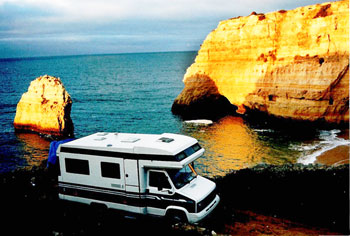 RV around the world: The Rich's RV in Algarve, Portugal - photos by David Rich.
