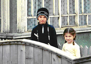 Siblings in Romania