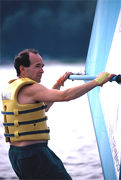 Writer and humorist Gary Buslik.