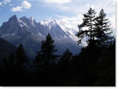 The majestic Alps