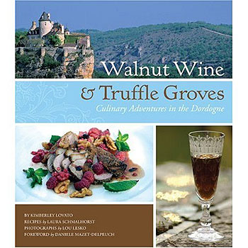 Cover art for Walnut Wine and Truffle Groves by Kimberley Lovato and Laura Schmalhorst