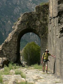 Roman arches - Valle d'Aosta