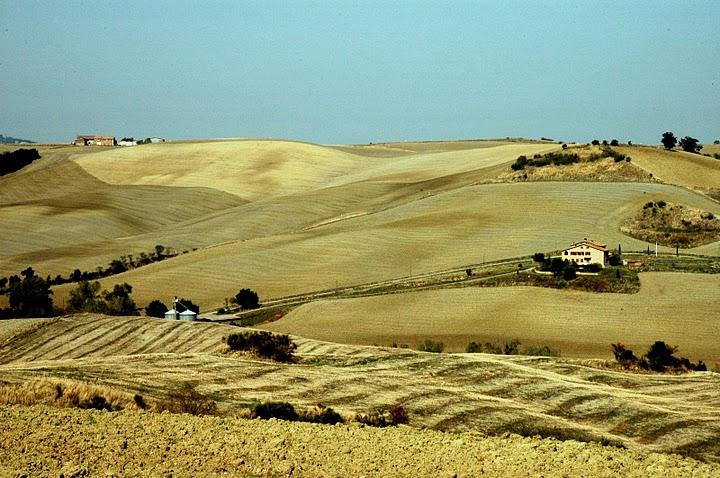 Val dÓrcia, Tuscany.