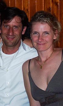 Luca Spaghetti and Elizabeth Gilbert.