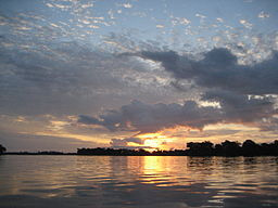 The Congo River near Mossaka.