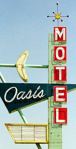 Unique sign art in Tulsa, Oklahoma.
