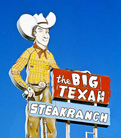 The Bix Texan Steak Ranch on Interstate 40.