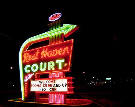 Rest Haven Court in Springfield, Missouri.
