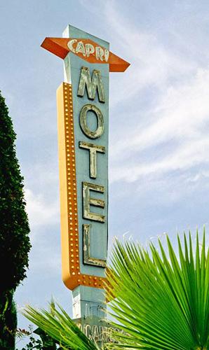 Capri Motel in Southern California.