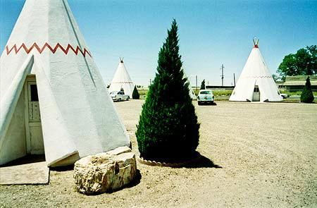 Wigwam Villages in Holbrook, Arizona.