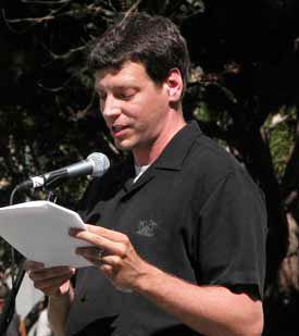 Author Michael Scott Moore.