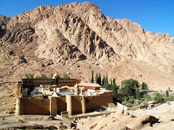 St Catherine's monastery in Egypt.