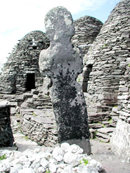 Skellig Michael houses relics from a bygone era.