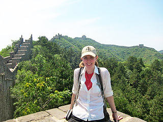 Dr. Miller in China.
