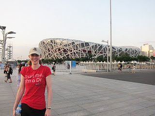 Dr. Miller made it to Beijing.
