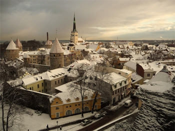 """""""Tallinn, Estonia, was my home for nearly half a year. The Old Town is straight out of fairy tale."""""""