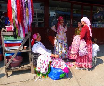 Calafat, Romania. Roma are sometimes called gypsies.