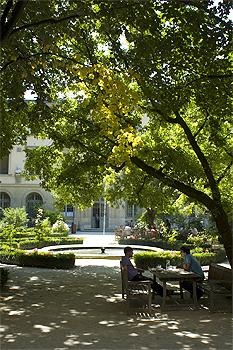 L'Ecole Normale Superieure, The Student's Garden, Paris.