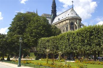 Square Jean XXIII, Notre Dame.