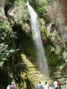 Waterfall in En Gedi
