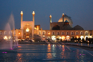 Isfahan's great Imam mosque is both a tourist attraction and a vibrant place of worship.