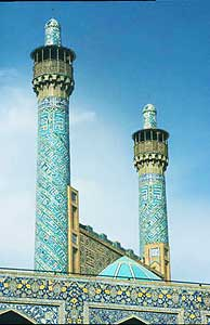 The Mosque of the Imam in Esfehan