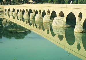 The Pol-e-Shahrestan Bridge