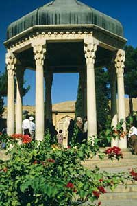 The Tomb of Shadi in Shiraz