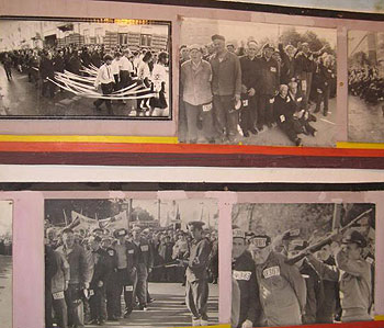 Pictures from the Museum of Repression in Ternopil