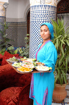 Service Moroccan style