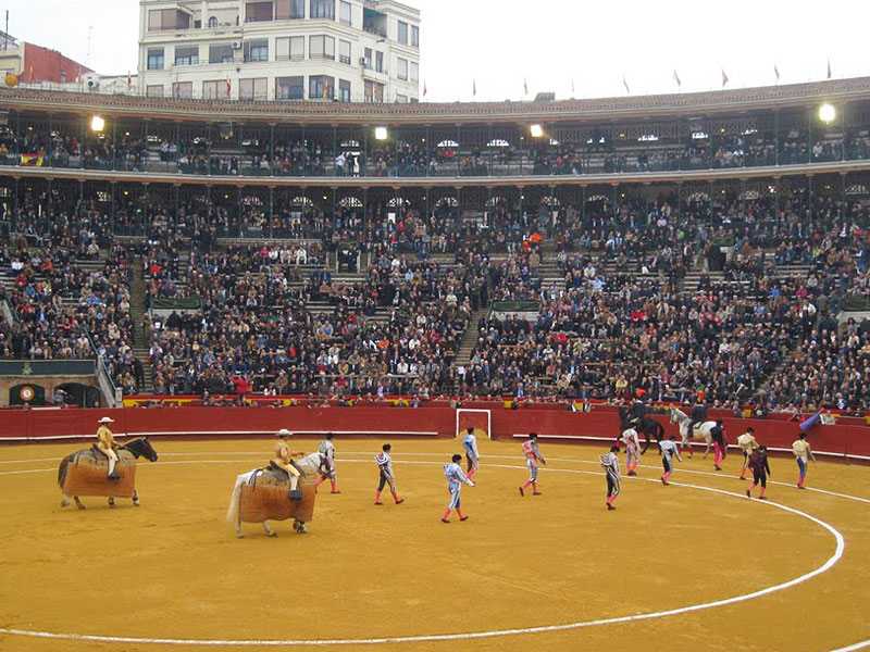 The Corrida in Valencia, Spain