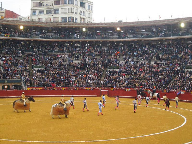The Corrida in Valencia, Spain