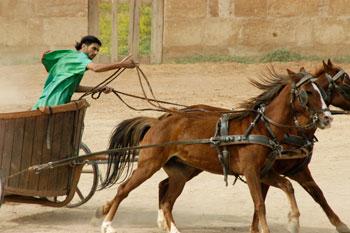 Chariot race at Jerash, Jordan