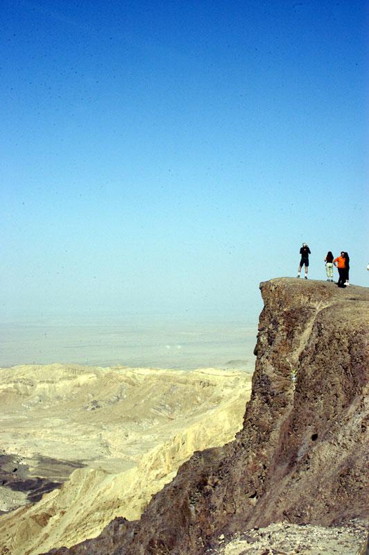 Near Little Petra in Jordan